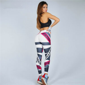High Waist Push Up Fitness Breathable And Comfortable Workout Leggings