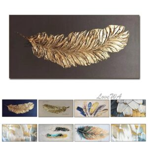 Unframed Handmade Oil Painting Canvas Wall Art Picture For Living Room