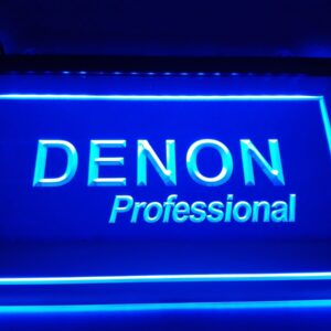 Denon Home Theater Audio NR LED Neon Light Sign Home Decor Crafts