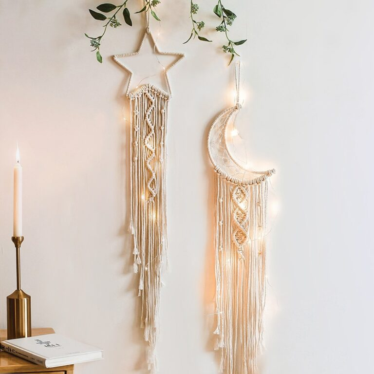 Nordic Macrame Dream Catcher Room Decoration Wall Hanging For Home