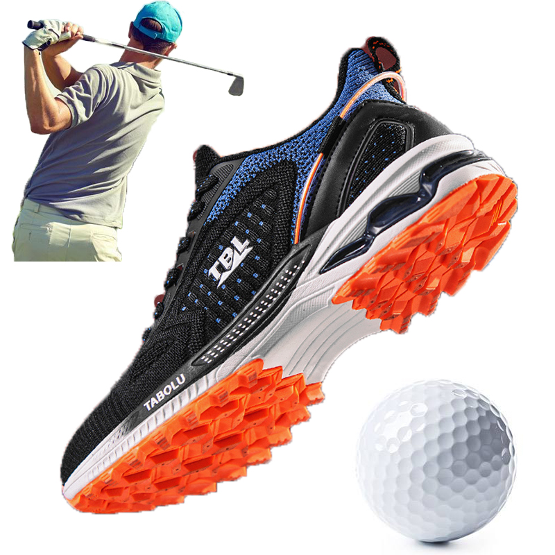 Breathable Luxury Golf Trainers Shoes Quality Walking Big Size 39-47 Anti Slip Sneakers